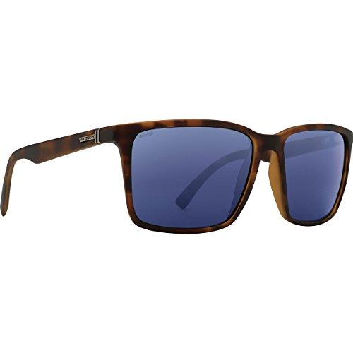 VonZipper Unisex Lesmore Polar Tortoise Satin/Wild Slate Grey Polar Sunglasses Tortoise Slate