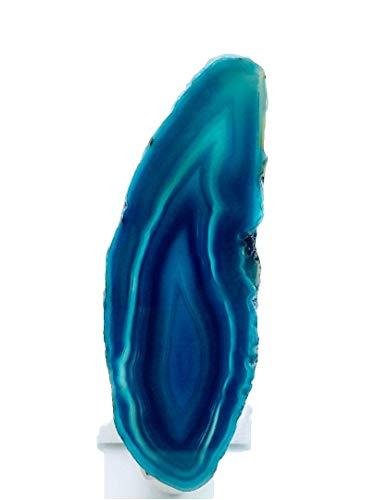 Night Light Slice - Turquoise Agate Nightlight