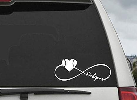 LA Dodgers Baseball vinyl decal sticker car truck auto window Buy 2 Get 1 Free