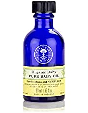 Neal's Yard Remedies Organic Pure Baby Oil, Fragrance-free from 100% Pure Organic Oils