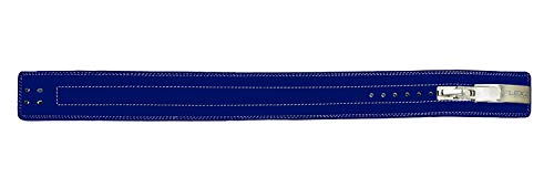 Flexz Fitness Lever Buckle Powerlifting Belt 10mm Weight Lifting Blue X Large by Flexz Fitness (Image #7)