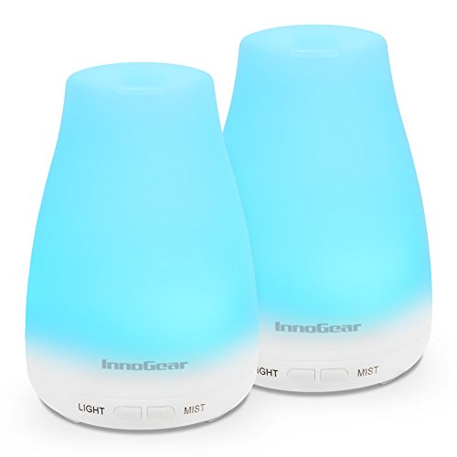 InnoGear 2 Pack 150ml Essential Oil Diffuser Aromatherapy Ar