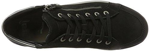 Ara 12-44410 Damessneakers Zwart / Gun