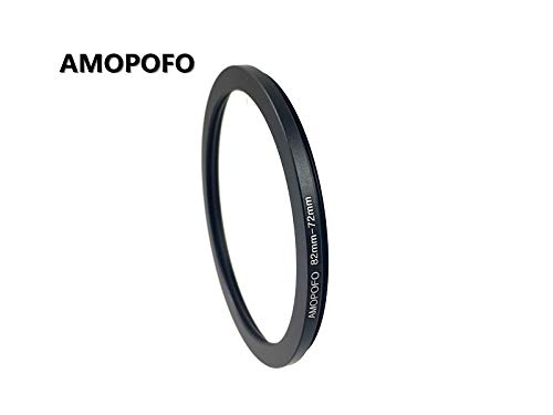Universal 82-72mm //82mm to 72mm Step-Down Ring Filter Adapter for UV,ND,CPL,Metal Step-Down Ring Adapter
