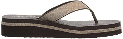 Skechers Women's Vinyasa - Unicorn Mist Sandal Chocolate PyR5o