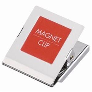 生活日用品 (業務用20セット) マグネットクリップ大 赤 10個 B146J-R10 ×20セット B074MMV5BQ
