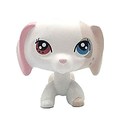 Cute Big Eye Pink Ear Pet Dachshund Dog Collection Child Girl Dog Figure Toy: Grocery & Gourmet Food