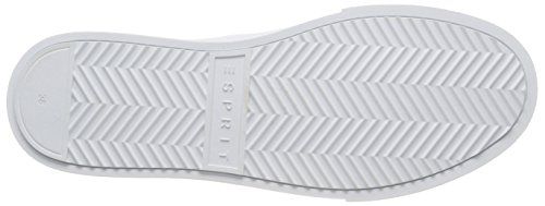 Cherry Blanc Esprit Femme Basses Ufo Sneakers Lu white 100 4r7Yqd7w