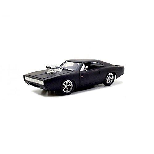 Jada 1:24 Fast & Furious - 1970 Dodge Charger Street Mat Black Vehicle