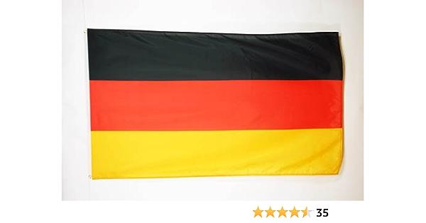 AZ FLAG Bandera de Alemania 90x60cm - Bandera Alemana 60 x 90 cm: Amazon.es: Jardín