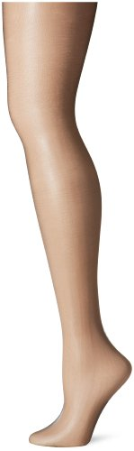 Berkshire Women's Plus-Size Queen Ultra Sheer Control Top Pantyhose 4411, Fantasy Black, 5X-6X ()