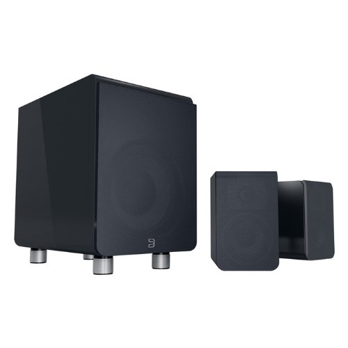 Bluesound Duo Compact High-Res Subwoofer and Speaker - Black by Bluesound