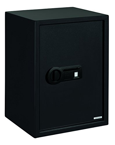 Stack-On PS-15-20-B Super-Sized Safe with Biometric Lock, Black