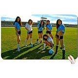 Sports Boots Women Uniform Soccer High Heels Knee Socks Stadium Soc Big Mouse Pad Dimensions:60X35X0.2 CM