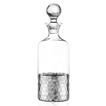 The Jay Companies Daphne Decanter, Silver