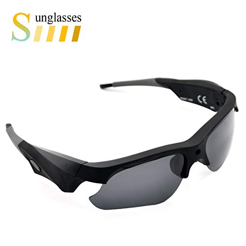 Sunglasses Camera Full HD 1080P Wide Angle for Sport,Sunsome Mini Video Camera with UV Protection Polarized Lens by Sunsome