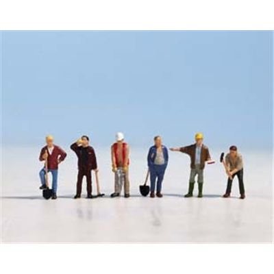 Noch 36110 Construction Workers 6/ N Scale -