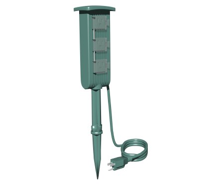 Stanley-PlugBank-Mini-3-Outlet-Ground-Stake