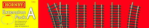 Hornby R8221 00 Gauge Track Extension Pack A from Hornby