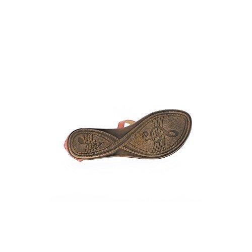 Nu 5cm Corail Femme Talon 1 pieds TAnxRaqwpn