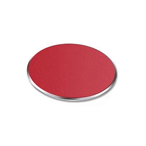Sakula Circular Car Mount Metal Plate For All Magnetic Car Mount Cellphone Holder Red ()