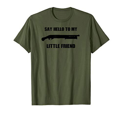 Tac 14 Shotgun Accessories Fun Tactical T-Shirt