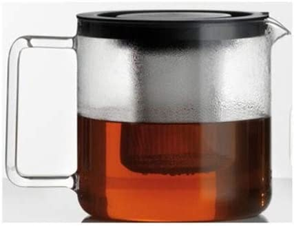 one size clear Simax Glassware 8593419382956 Simax Jug From 1.3L with metal burining