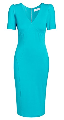 Star Kollektion von Victoria AMCO Damen Annett der Kleid Business fashion Blau TV Möller aus Turquoise Tropical qpS1CUxwT