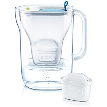3.6L Water Filter with 1 Cartridge,Style XL-Blue BRITA MAXTRA