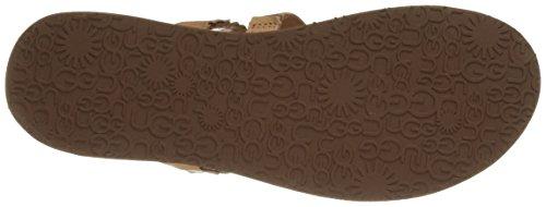 UGG Australia Audra - Sandalias de Dedo Mujer Chocolate