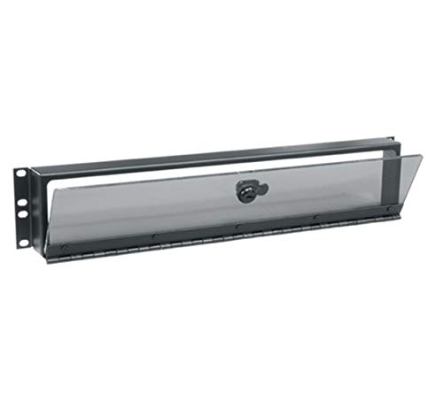 Hinged Plexiglass Security Cover for - Cover 1u Security
