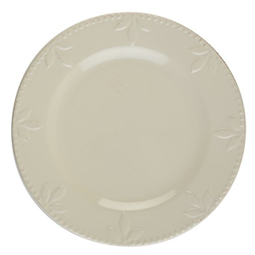 Signature Housewares Sorrento Collection Set of 4 Dinner Plates, 11-Inch, Ivory by Signature Housewares (Image #1)