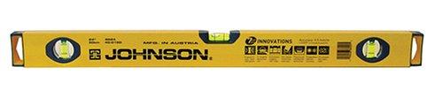 Johnson Level & Tool 8624 24-Inch Aluminum Box Beam Level (BigX) by Johnson Level & Tool