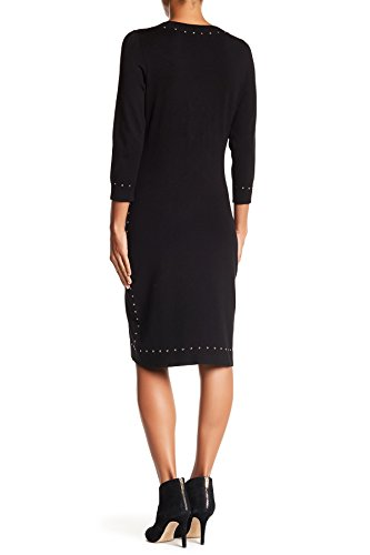 Robe Pull Clouté Garniture De Femmes Calvin Klein, Noir, Taille M