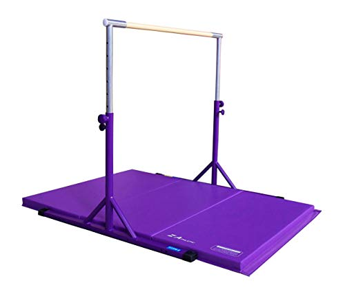 Z-Athletic Expandable Kip Bar Adjustable Height...