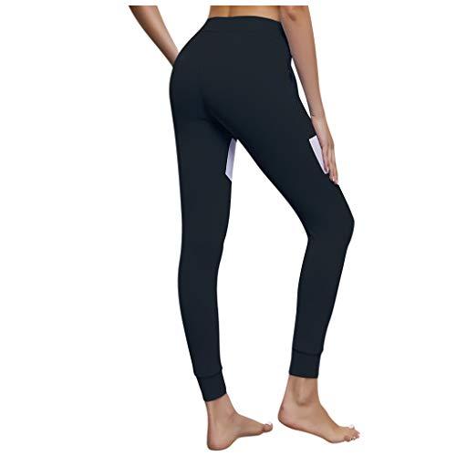 FKSESG Yoga Pants Women High Waist Yoga Sport Pants Plus Size Monochrome Skulls Leggings