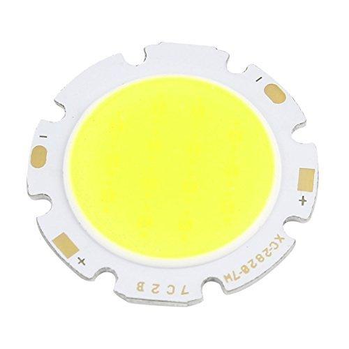 21-22V 300ミリアンペア7WピュアホワイトライトハイパワーSMD COB LEDランプチップ電球 B06XVNYM3Z