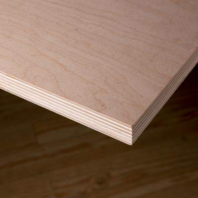 18MM 3/4'' x 12'' x 24'' Premium Baltic Birch Plywood Box of 6 B/BB Grade Birch Veneer Sheets one Clear face by The Kitchen Zone