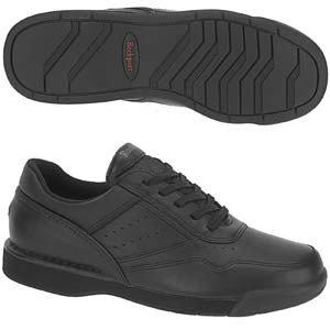 Rockport Men's M7100 Pro Walker Walking Shoe-Black-9.5  M (Rockport Mens Prowalker Shoe)