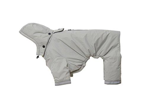 Kruuse Buster Aqua Dog Raincoat, Silver, XX-Large by Kruuse (Image #1)
