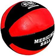 CSI Real Leather Max Medicine Ball/Wall Ball for Body Workouts, Crossfit Workouts, Strength and Conditioning E