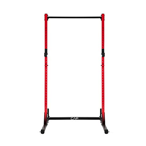 CAP Barbell Power Rack Exercise Stand, Red