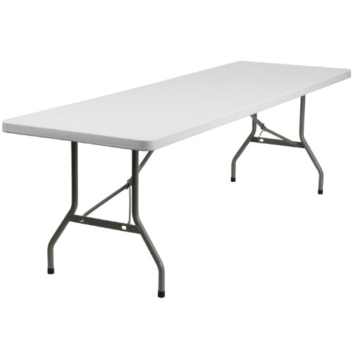 Metal Plastic Folding Table (Flash Furniture Granite Plastic Folding Table, 30
