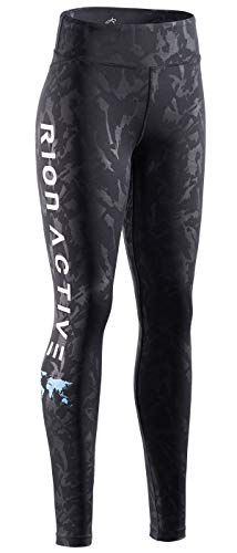 - RION Active Women's Running Leggings Workout Tights Pants Black