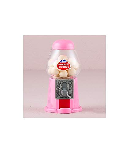 """Pink Gum Machine – Original Gum Machine in Pink with""""Dubble Bubble"""" Gum Included Birthdays and Communions"""