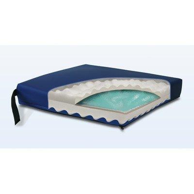 "Convoluted Gel-Foam Cushion in Navy Size: 3"" H x 20"" W x 18"" D"
