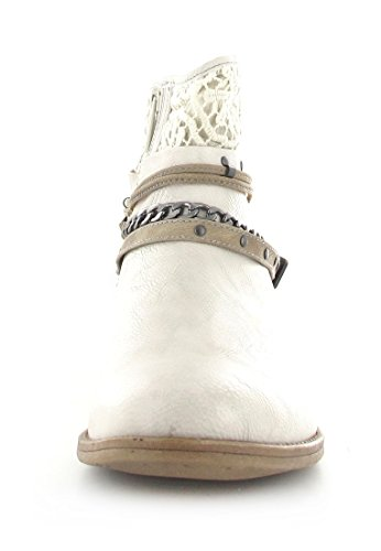 Mustang 1157-514-203 - Botines para mujer Elfenbein (203 ice)