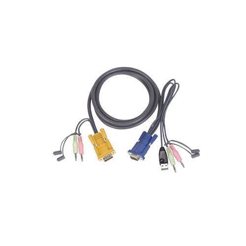 IOGEAR G2L5303U accessories 10ft USB kvm cable for gcs1758/1732/1734