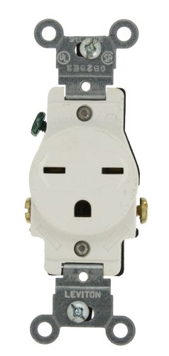 Leviton 5029 W Receptacle Commercial Grounding
