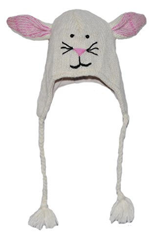 Rabbit / Bunny Animal knitted Hat Adult - 40 Animals available for child/adult